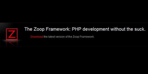 Zoop PHP Framework