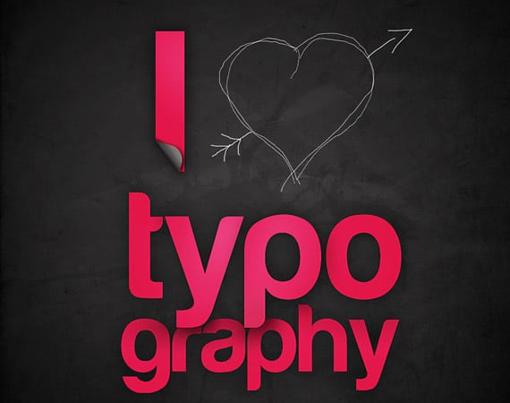 Examples of Typography