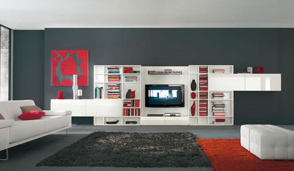 Amazing TV wall unit
