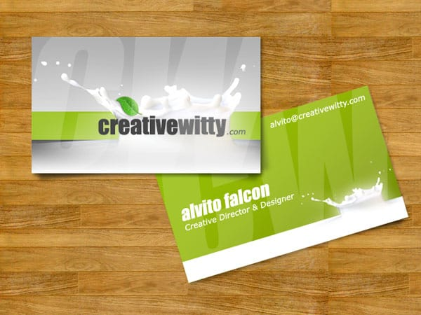 CreativeWitty - Business Card