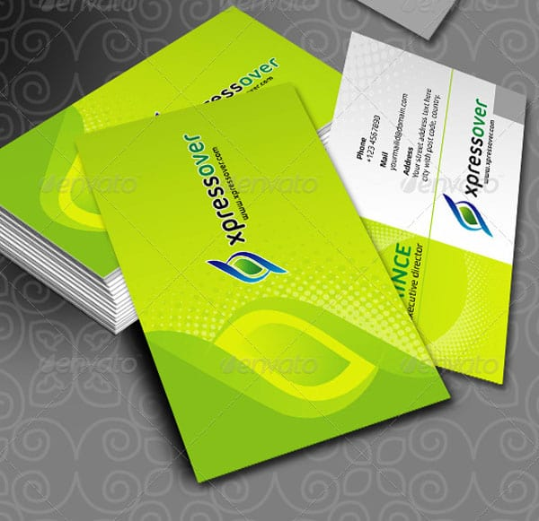 DX XpressOver Business Cards