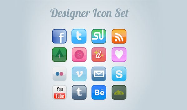 FREE DESIGNER ICON SET