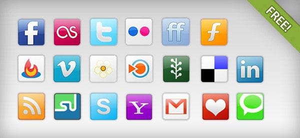 Free Social Network Icons