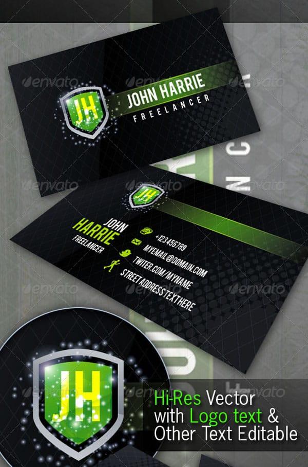 Freelancer Creative Business Card
