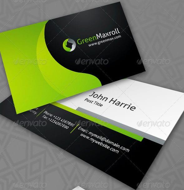 GreenMaxroll Business Cards