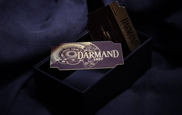 Metal Card Darmand 1937
