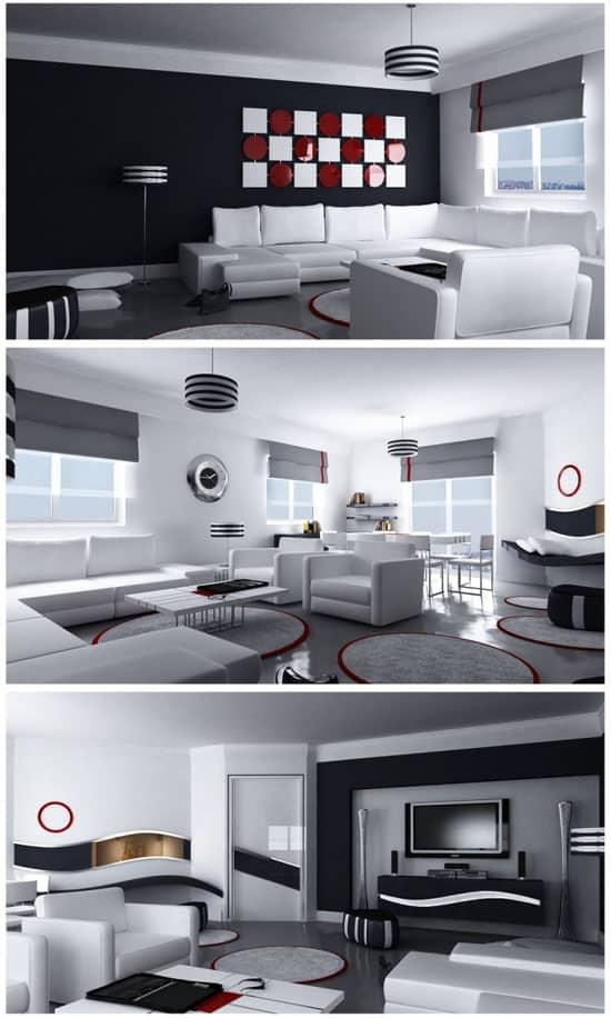 Moderne-Great-Room-By-Emra-Hozer