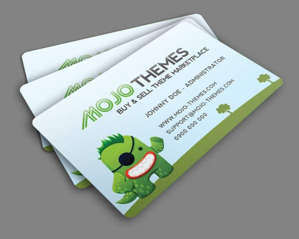 Mojo Themes business card