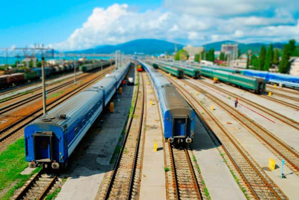 Tilt-Shift train tutorial