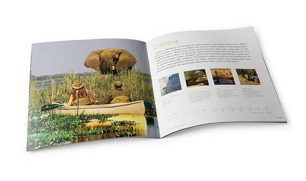 Travel Brochure Spread