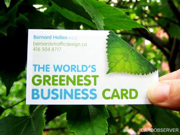 greenest card
