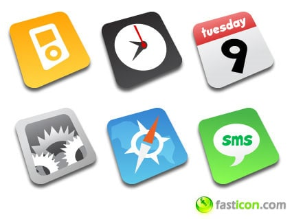 iphone apps icons