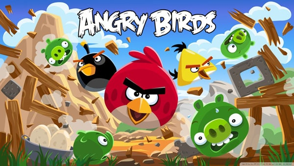 Angry Birds New Version wallpaper
