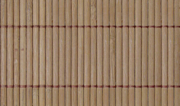 Bamboo carpet -tiled