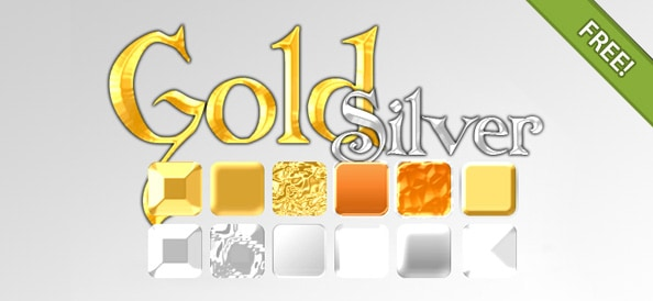 Gold - Silver Effect Styles