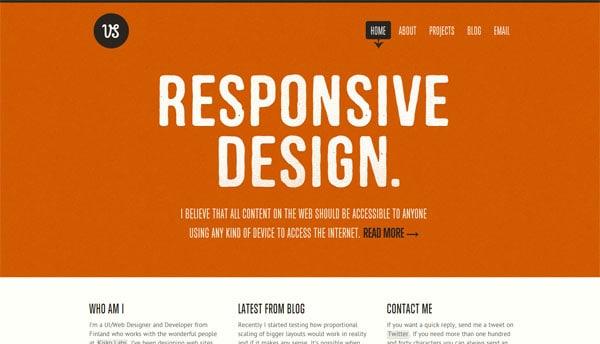 Viljami Salminen  Responsive Design