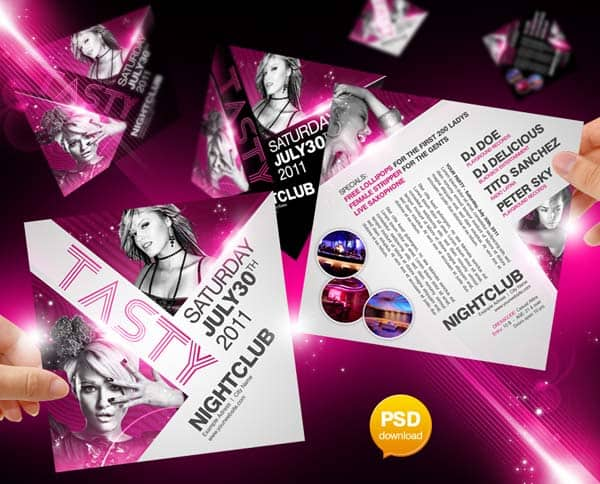 free_party_flyer_template
