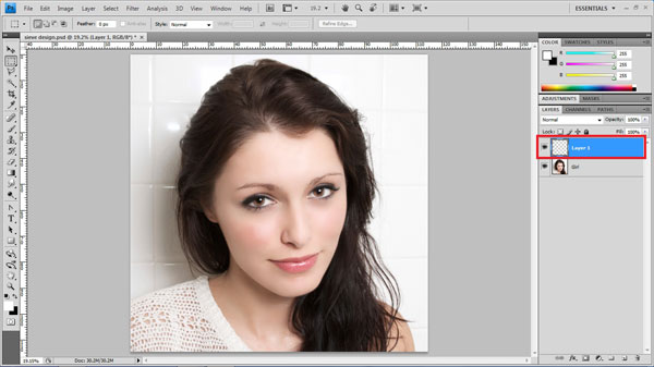 Photo-Strips Effect in Photoshop