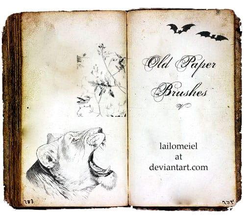 Old_Paper_Brushes_V
