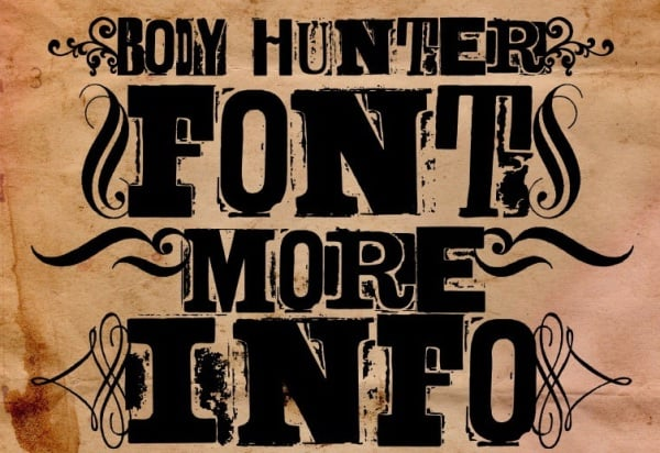 Body Hunter Font