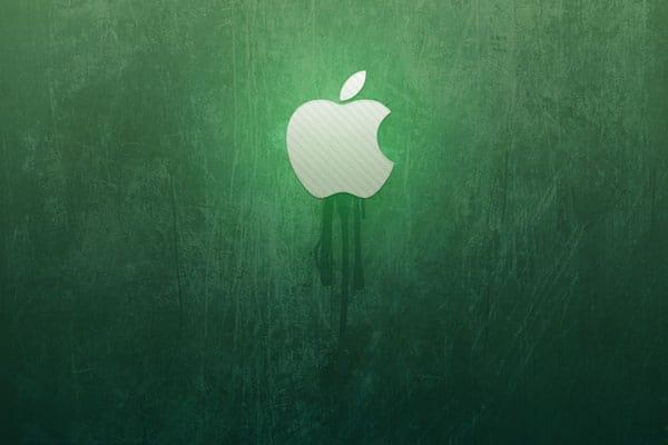 green-wall-apple