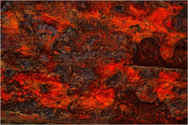 Old Red Rust Texture