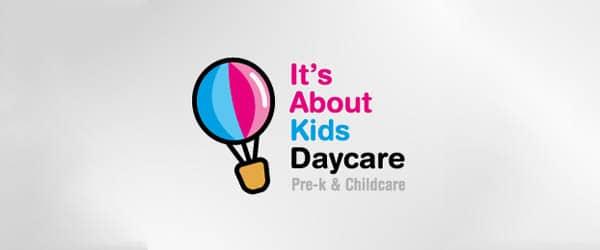 Kids Daycare logo