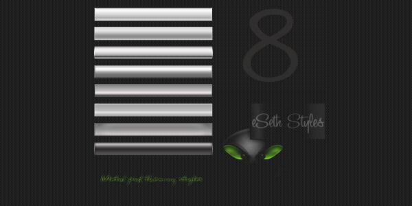 eSeth metal styles