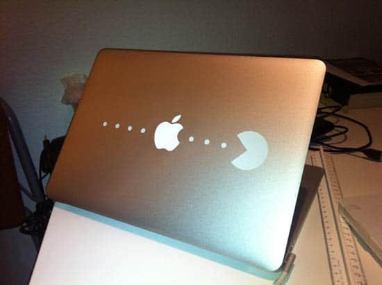 PacMan-MacBook-Sticker