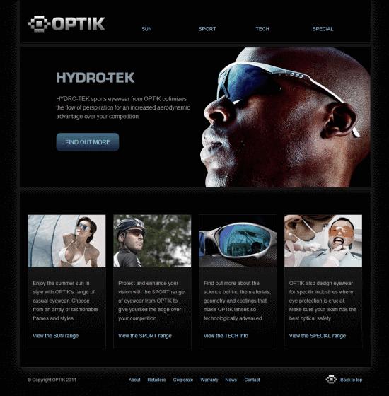 HTML 5 tutorials : Grid website