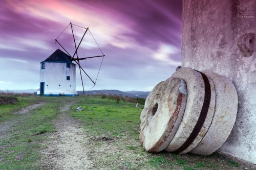 Photograph windmill