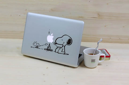 Snoopy-and-Woodstock-Making-Super