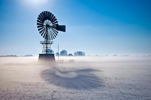 Time Light windmill