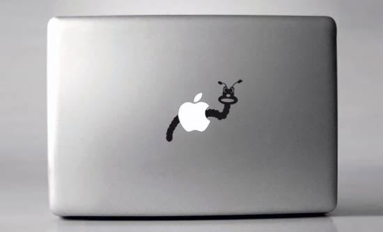 Wormy-Macbook-Sticker