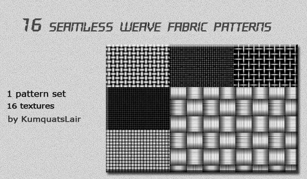 seamless weave fabric patterns