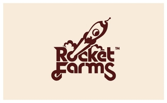 typography farm logo design inspiration