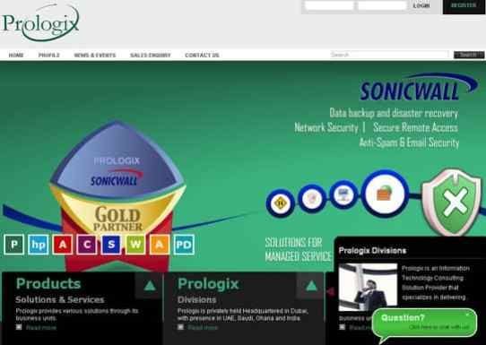 gradient in web design