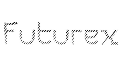 Futurex Striped font