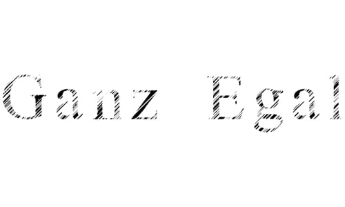 Ganz Egal font
