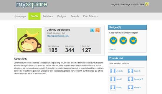 Foursquare-html5-tutorials