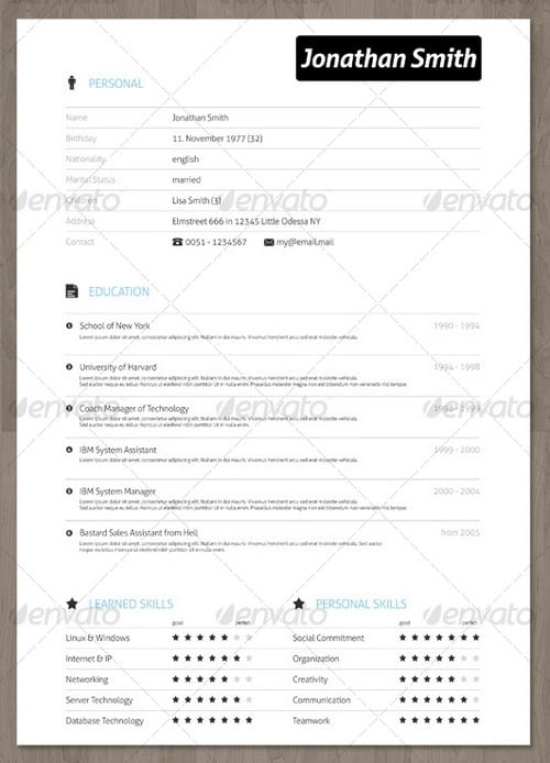professional creative resume creative resume template instant download word cv template design simple resume design modern - Professional Creative Resume