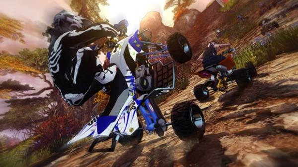 Mad Riders racing game 2012