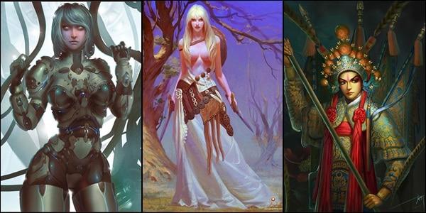 amazing digital paintings and illustrations