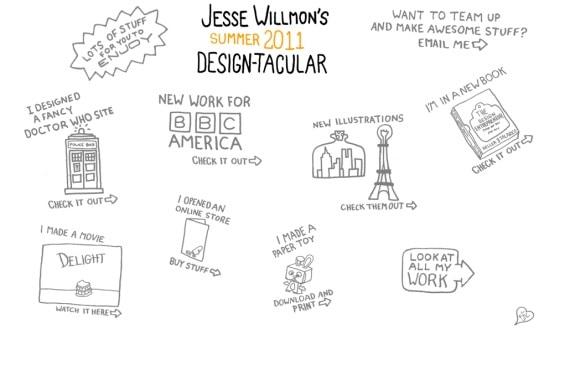 Artistic Hand-Drawn Websites