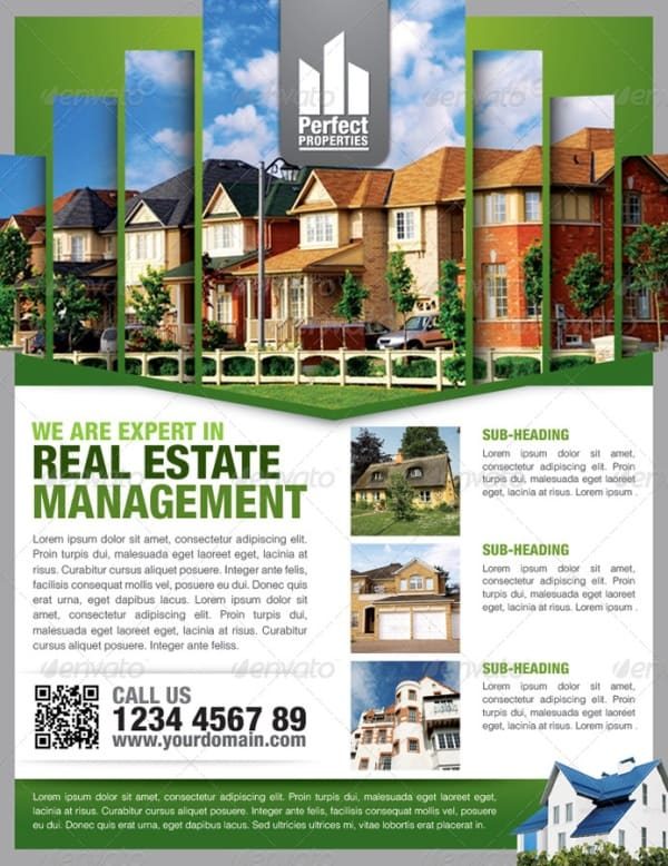 Real Estate Simple Flyers