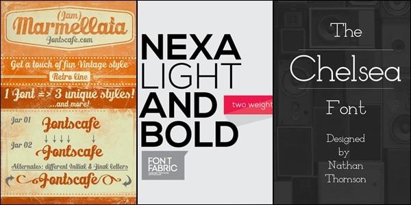 stylish free fonts