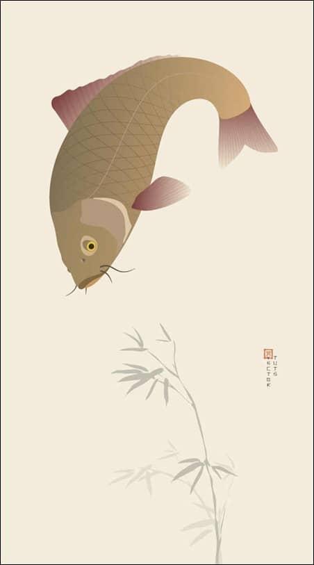 create-a-japanese-koi-carp-illustration