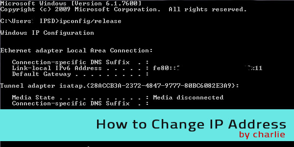 How to Change IP Address