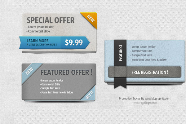 Promotion-Boxes