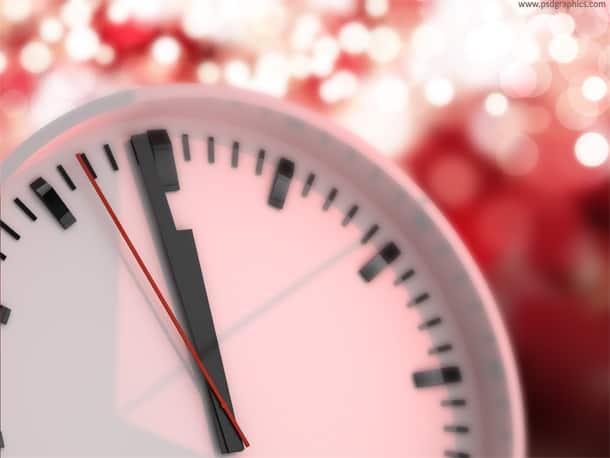 12 o'clock happy new year